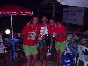 Roma (IT) 2005 - Baena y Cordero con el trofeo