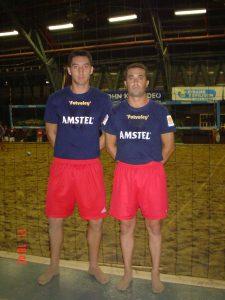 Aalsmeer (NL) 2005 - Sergio Antolinos y Frank Cortés