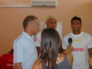 Entrevista a Miguel Hernández, Marcelinho y Bello