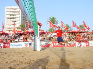 Marcelinho (Brasil) -Cartagena - Playa de La Manga 1
