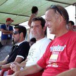 Miguel Hernández, Carlos Urrutia y Edu (Jugador del Valencia Club de Fútbol)