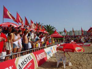 Público en Cartagena - Playa de La Manga